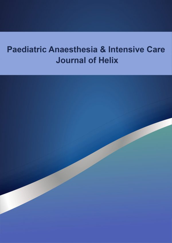 Paediatric Anaesthesia and Intensive Care Journal of Helix