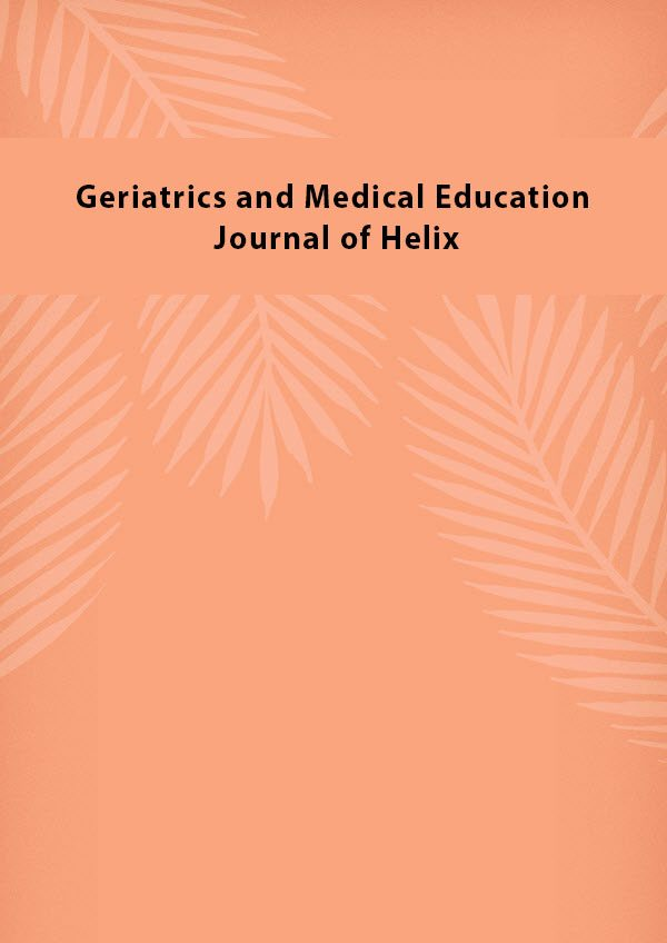 Geriatrics and Medical Education Journal of Helix