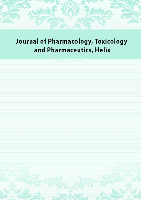 Journal of Pharmacology Toxicology and Pharmaceutics Helix